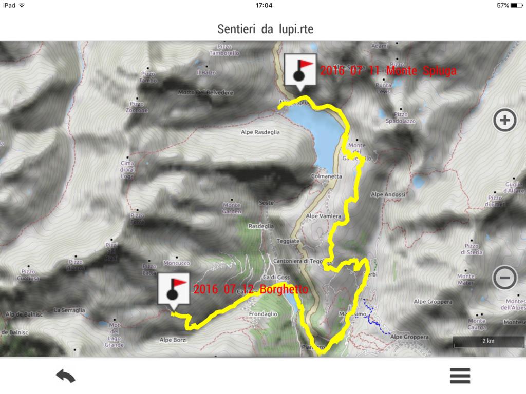 2016 07 12 XXXVI tappa: alpe Borghetto