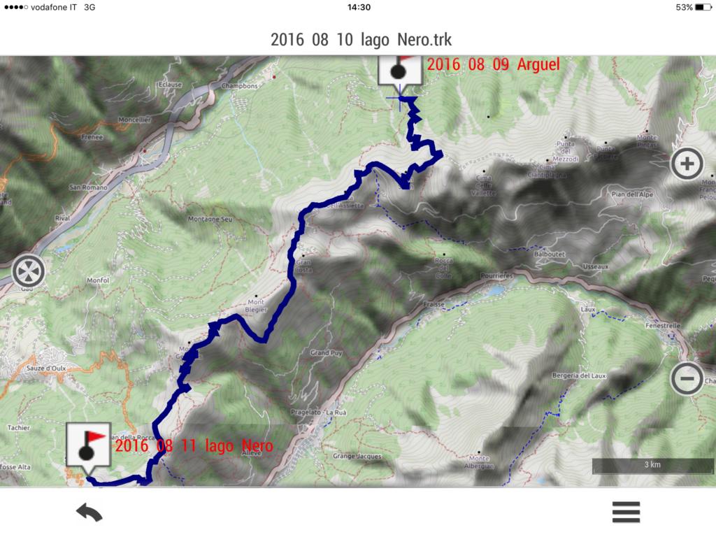 2016 08 10 LXII tappa: lago Nero