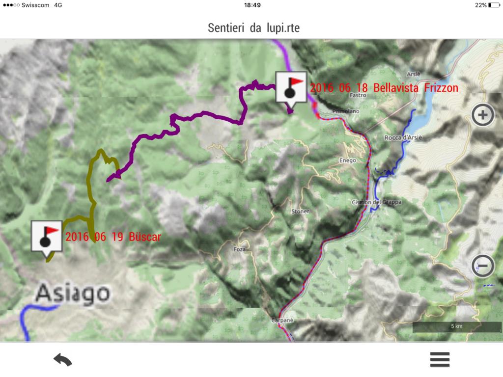 2016 06 19 XVII tappa: Büscar