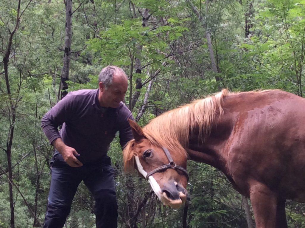 Zwonko Kravania, guardaparco del Triglavski Narodne Park dove vive ed è sempre vissuto