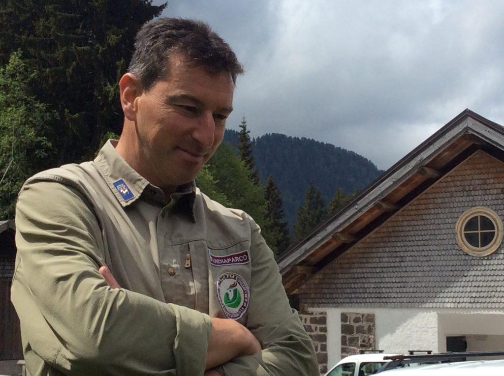 Elio De Silvestro, guardiaparco della foresta di Paneveggio