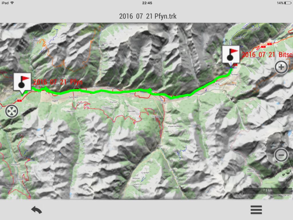 2016 07 21 XLV tappa: Pfynwald