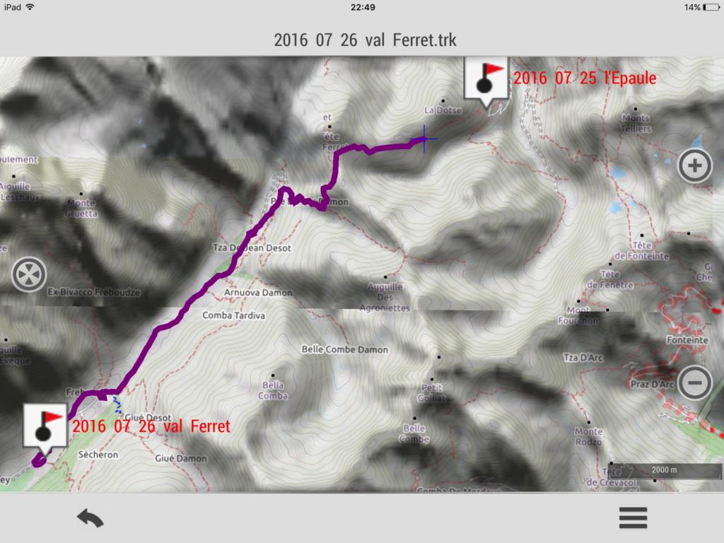 2016 07 26 L tappa: Val Ferret