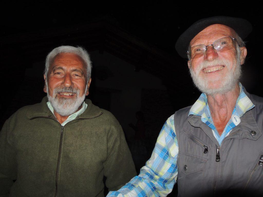 Jan Luc Grizolle e Mario Falchi