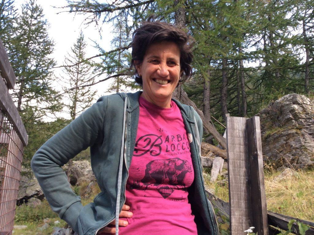Cinzia Fornero, un concentrato di energia in armonia con quello che la circonda.
