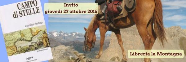 2016_10_27 ore 18 presentazione di Campo di stelle  Alla Libreria La Montagna