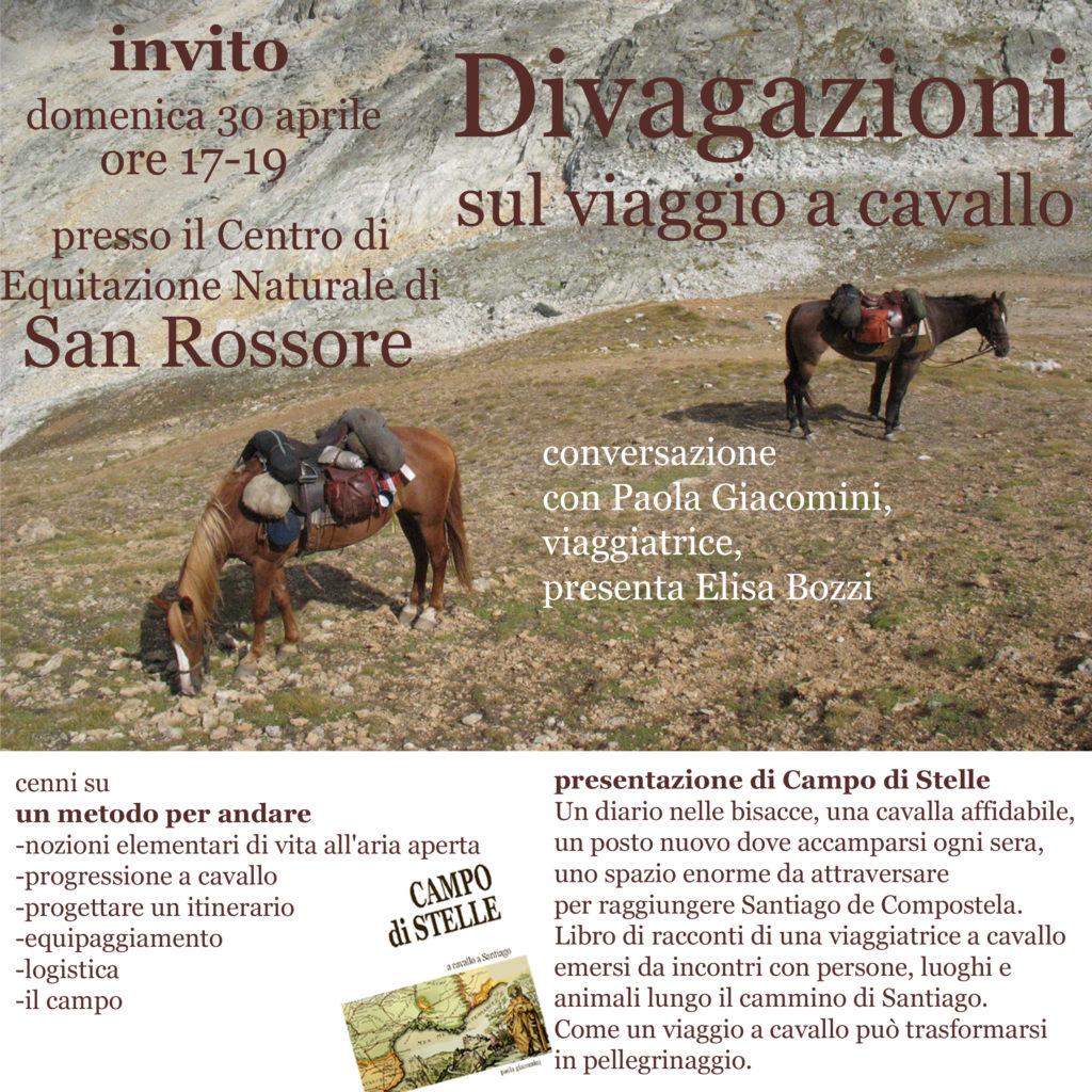 Divagazioni sul viaggio a cavallo